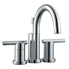 Centerset Or Widespread Faucet Zurn 4 In Centerset 2 Handle Gooseneck Bathroom Faucet In Chrome