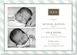 birth announcements maureen h stationery and invitations