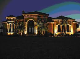 modern exterior home lighting for garden landscape ideas with