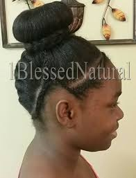images of black braided bunstyle with bangs in back hairstyle 1bn kids upward french braid cornrows with bun style
