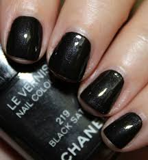 unsung makeup heroes chanel black satin nail polish