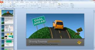 powerpoint themes free cars traffic road templates for powerpoint presentations