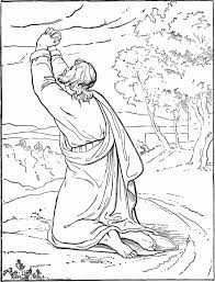 miracles of jesus coloring pages calms the sea in miracles of