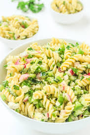 cold pasta salad recipes easy pasta salad recipe with feta parsley and lemon