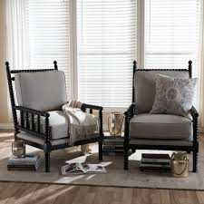 31 in triangle trellis grey accent chair hb4688 the home depot