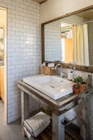 Open Shelf Bathroom Vanities Bathroom Decoration Using White Subway Tile Bathroom Wall