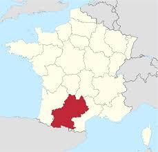 Pyrenees Mountains Map Midi Pyrénées
