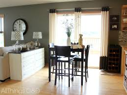 Door Dining Room Table by Dining Room Appealing Brown Ikea Sideboard With Sliding Door And