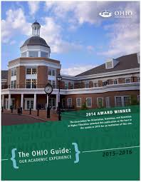 the ohio guide our academic experience 2015 16 by ohio bso