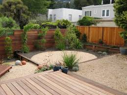 floor amazing interlocking deck tiles with plants and wood fence