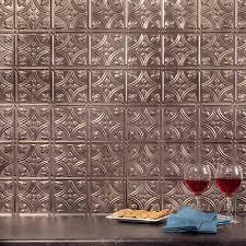 kitchen fasade backsplash fasade ceiling tiles tin backsplash fasade backsplash traditional 1 in brushed nickel