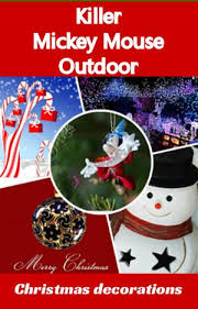 mouse outdoor decorations