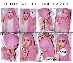 tutorial hijab paris ke pesta tutorial hijab terbaru tutorial jilbab pesta segi empat