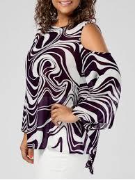 purple blouse plus size asymmetrical purple blouse cheap shop fashion style with free