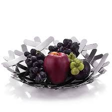 fruit by mail decorative large stainless steel fruit bowl creative fashion candy