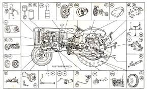 mf 135 tractor wiring diagram massey 65 tractor electrical diagram