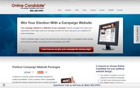 onlinecandidate com releases new political print and brochure
