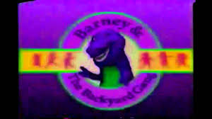 barney u0026 the backyard gang intro 1988 version sparta remix youtube