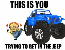Jeep Wrangler Meme - minion in jeeps jeep stuff and jeep life