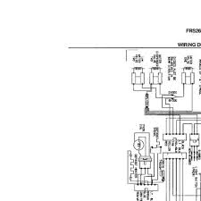 parts for frigidaire frs26r4ab6 wiring diagram parts