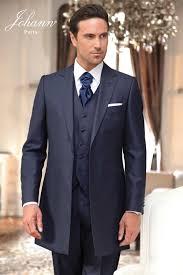 costume bleu mariage johann costumes de mariage redingote et jaquette