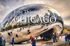 Chicago Tourist Map by Free Things To Do In Chicago Chicago Free Things To Do
