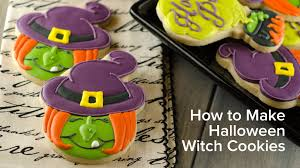 Sugar Cookie Halloween by How To Make Halloween Witch Cookies Youtube