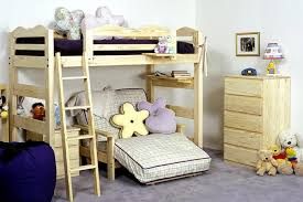 Wilber Hall Twin Size Loft Bed - Half bunk bed