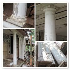 wood porch columns archives living vintage