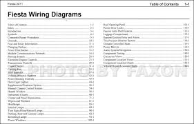 ford fiesta wiring diagram pdf ford diy wiring diagrams