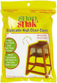 disposable chair covers snap snak disposable high chair covers childrens