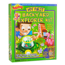 my first backyard explorer kit kids science kits by scientific