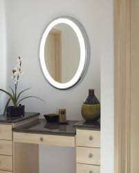 Oval Bathroom Mirror by Illuminated Oval Bathroom Mirrors Home