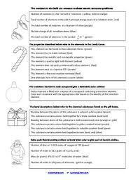 collection of solutions high chemistry review worksheets on