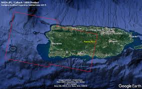 Where Is Puerto Rico On The Map Aria Damage Proxy Map Of Puerto Rico After Hurricane Maria Nasa