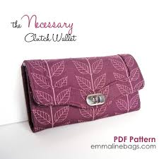 The Pink Clutch 2016 by Emmaline Bags The Necessary Clutch Wallet Pdf