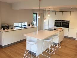 kitchen design sheffield classic white handle less german kitchen in sheffield