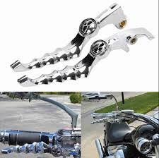 3d skull hand brake clutch lever for honda shadow vtx vt 400 600
