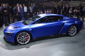 volkswagen sports cars volkswagen xl sport with ducati v twin engine paris motor show photos