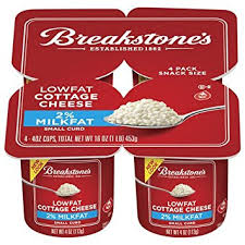 breakstone cottage cheese 2 small curd 4 ct snack size pack of 3