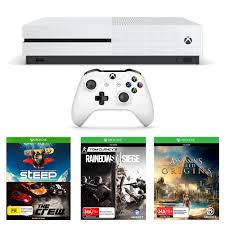 siege audio console xbox one s 1tb with assassin s creed origins rainbow six siege