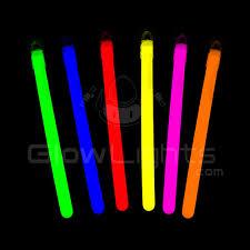 light sticks 4 imprinted glow light sticks 8 assorted colors as low as