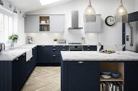 navy blue and white kitchen cupboards kitchens black navy and grey kitchen ideas