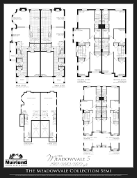 spring valley floor plans detached and semi detached