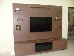 wooden wall showcase designs