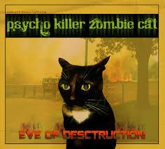Cat Photo Album Fake Album Psycho Zombie Killer Cat By Surlana On Deviantart