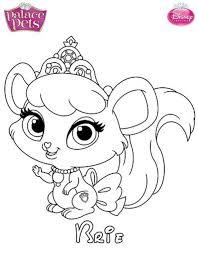 kids fun 36 coloring pages princess palace pets