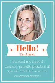 sample resume for speech language pathologist 104 best slp career images on pinterest speech therapy click to read how alyssa started her own speech therapy private practice at age 26