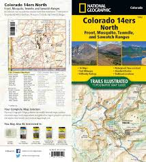 Map Of Colorado 14ers by 2017 Bcs Awards Entries The British Cartographic Society