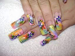 colorful acrylic nail designs u2013 slybury com